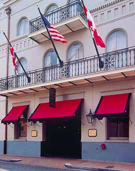 The Prince Conti Hotel in New Orleans