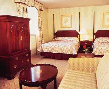 Guest Suite at The Prince Conti Hotel